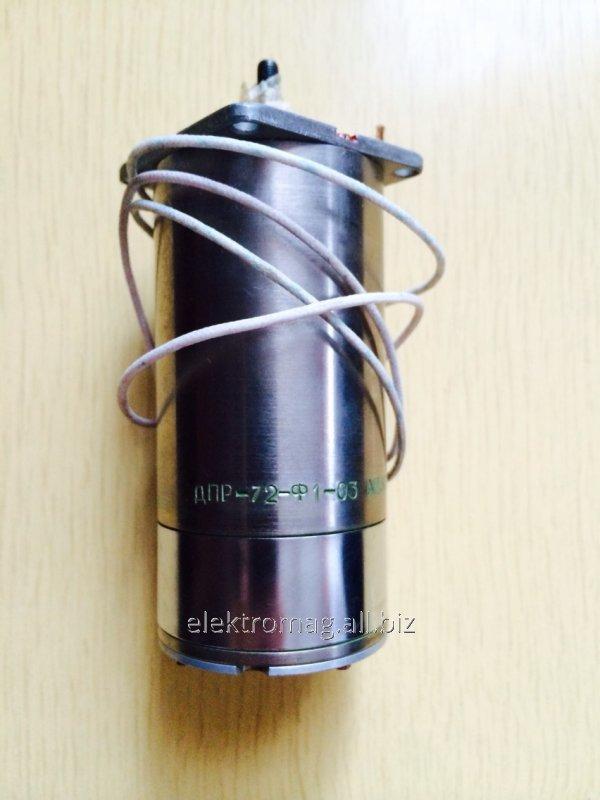 Электродвигатель  ДПР-72-Ф1-03
