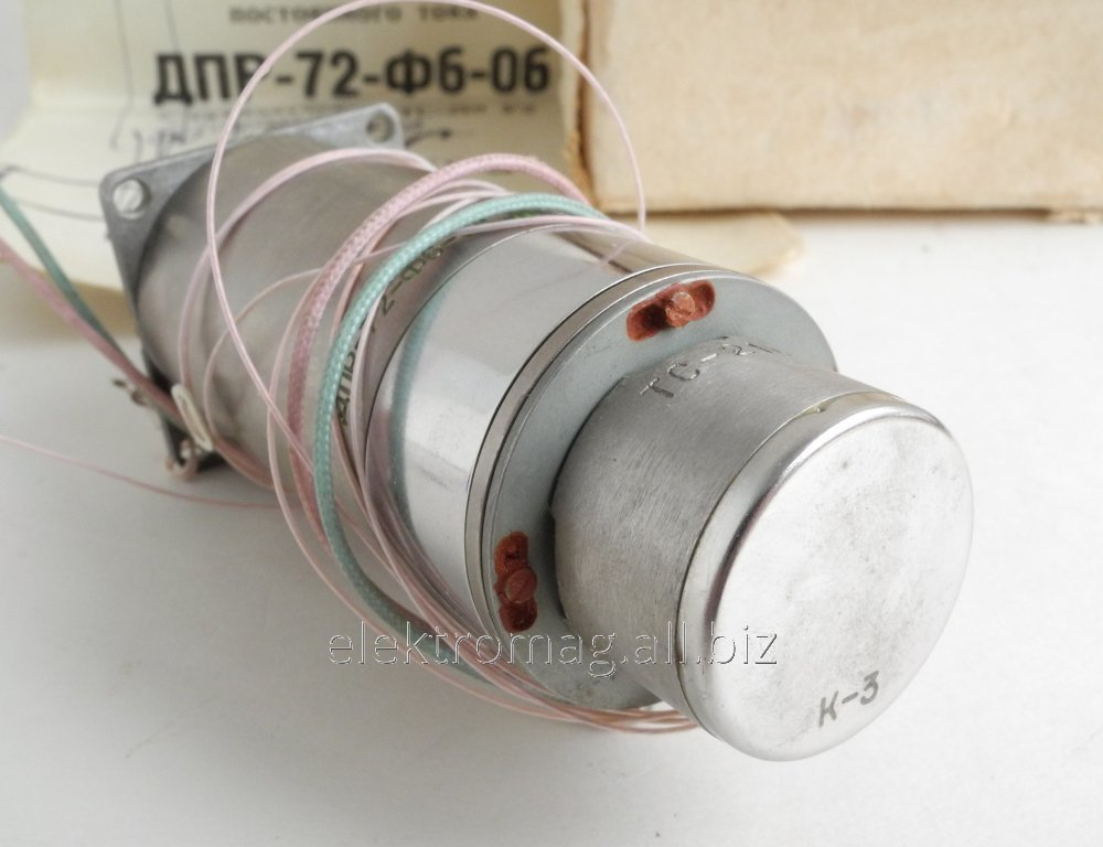 Buy Elektrodvigatet the DPR-72-F6-06 with a tachometer of the CU-210