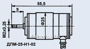 SPT elektrik motoru-25-n 1-02