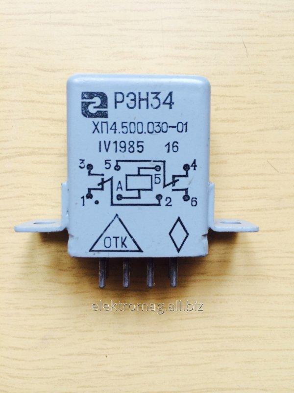 Реле РЭН-34 ХП4.500.030-01
