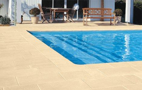 Купити Плитка для доріжок і бортів басейну (виробник «Pierra», Франція).