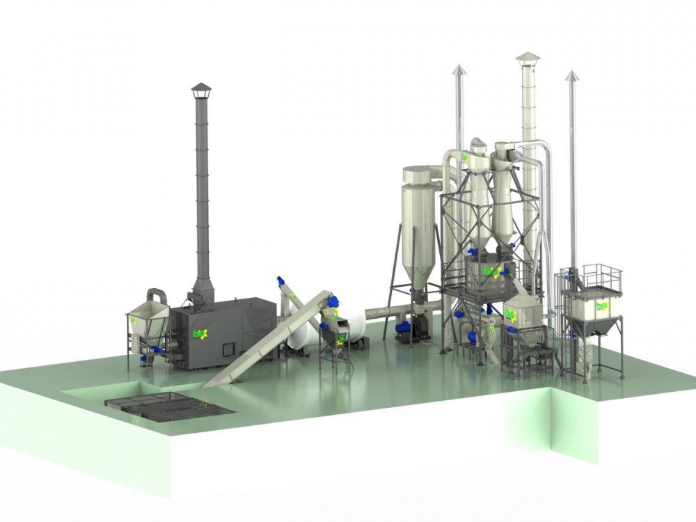 Granulierlinie 800-1100 kg / h bis zu 65%