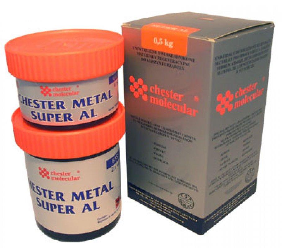 Двухкомпонентный металлокомпозит Chester Metal Super AL, 0,4кг