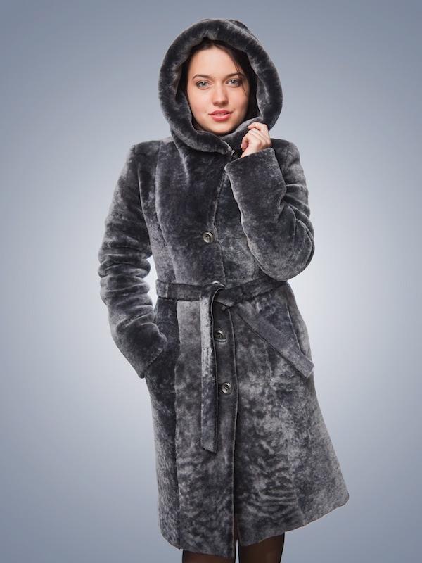 Шуба з каптуром Кобра купити в Київ ff4f99e172493