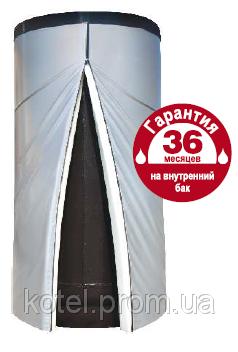 "Buy The heataccumulator, buffer capacity with two heat exchangers ""GALMET"" SG(B)2W BUFOR of 1500 liters"
