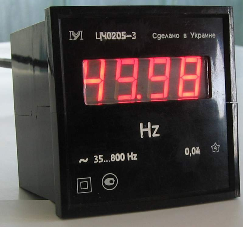 Цифровой частотомер ЦЧ0205