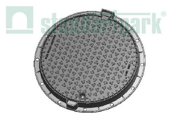 """Купить Люк каналізаційний середній типа С (В125) """"KBL03P EUROPA"""""""