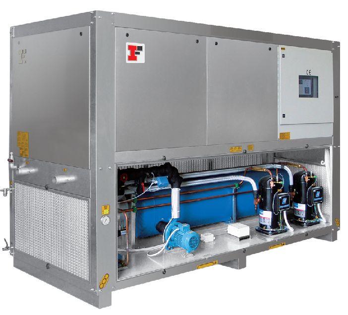 Промышленные охладители жидкости Industrial Frigo- Чиллеры. Мощность охлаждения 2,2-1500 кВт. Температура охлаждения до -10С. Гарантия и Сервис.