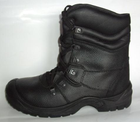 Ботинки высокие кожаные ALFA