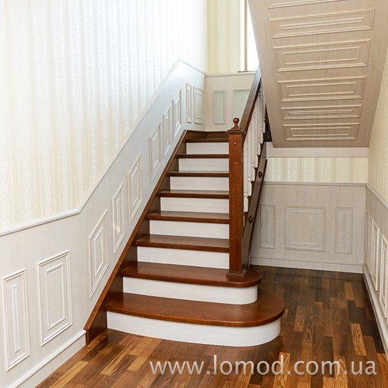 Лестница деревянная. Модель Аристократ.