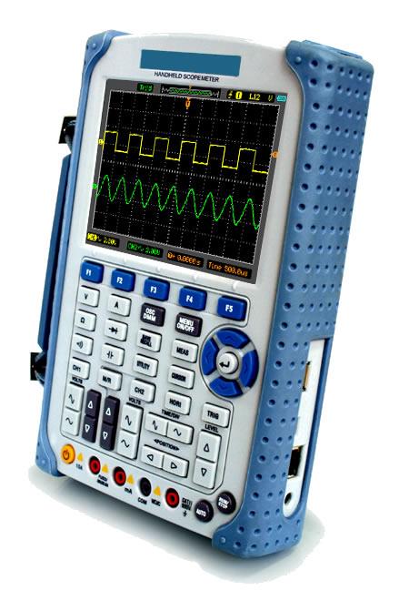 Купити Цифровий осцилограф 200Мгц Hantek DSO1202B – 2-х канальний портативний
