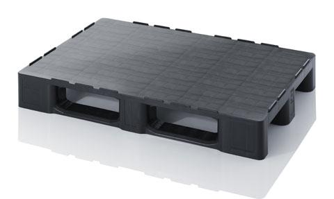 Купить Поддон пластиковый усиленный черный 1200х800х152 мм