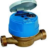 Купить Счетчик воды одноструйный Itron Unimag Cyble ДУ 15 мм
