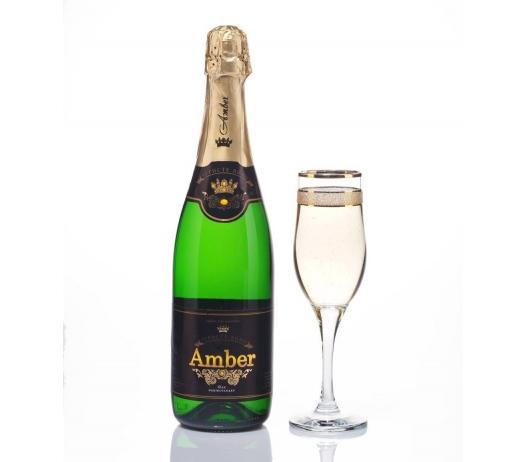 Шампанское Украины «Амбер» (брют, сухое, полусухое, полусладкое, сладкое)