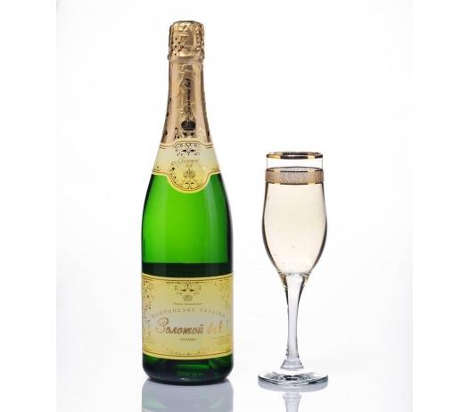 Шампанское Украины «Золотой век» (брют, сухое, полусухое, полусладкое, сладкое)