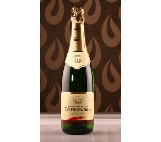 Купить Шампанское Украины «Триумфальное» (брют, сухое, полусухое, полусладкое, сладкое)
