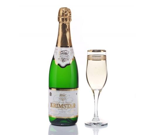 Шампанское Украины «Крымстар» (брют, сухое, полусухое, полусладкое, сладкое).