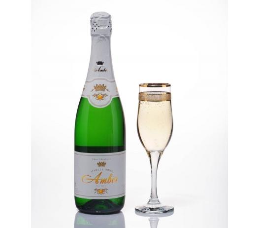 Вино игристое белое «Амбер» (Amber) (брют, сухое, полусухое, полусладкое, сладкое)