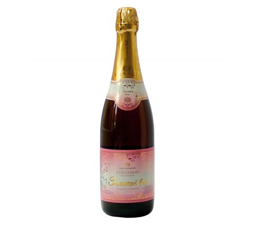 Купить Вино мускатное игристое розовое «Золотой век» (сладкое)