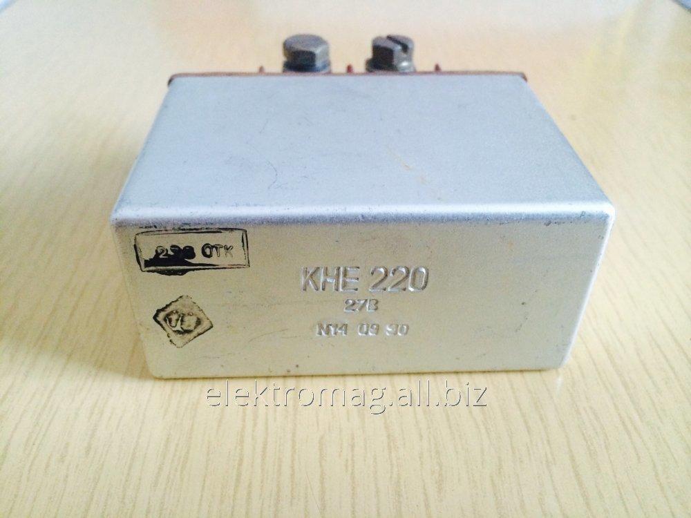 Контактор электромагнитный КНЕ-220 27В KNE-220 27V