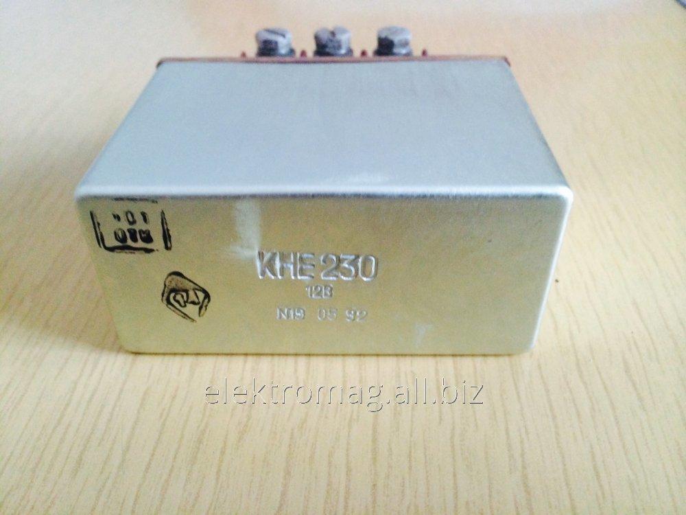Контактор электромагнитный КНЕ-230 12В КНЕ230 12V