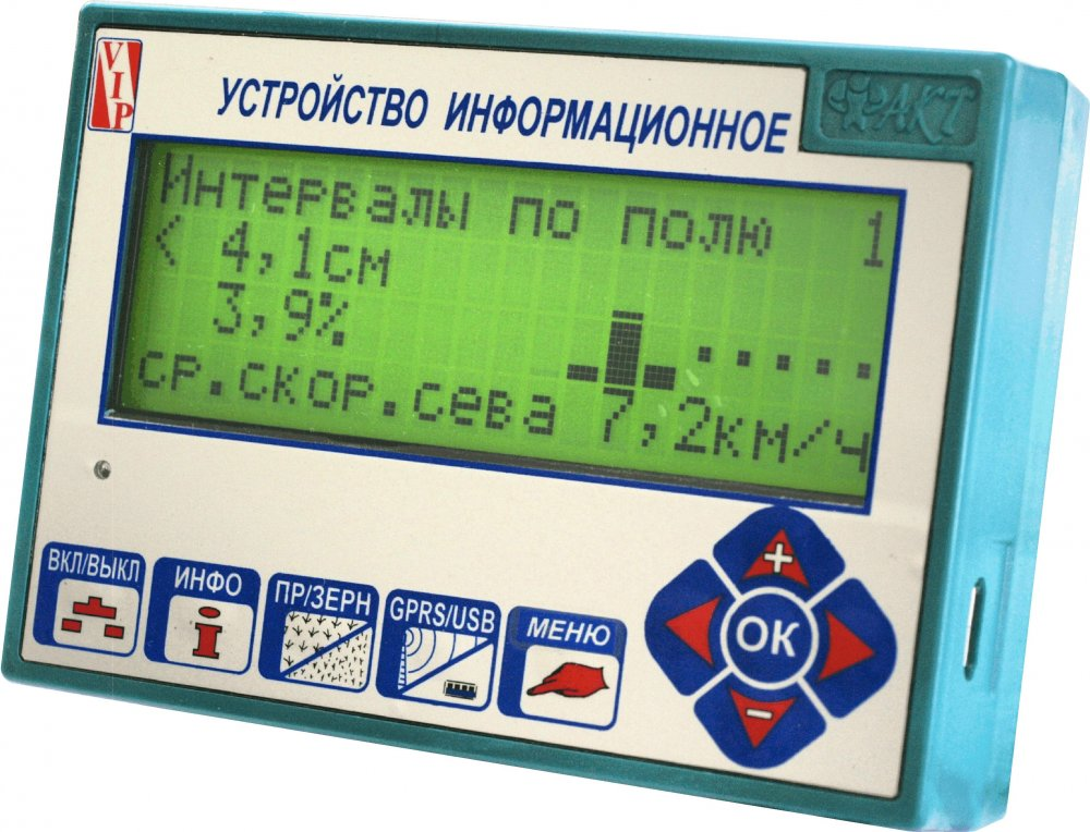 """Buy The device information """"FACT"""" of USB (4x20) for quality control of seeding at high-speed crops. For the Ukrainian and foreign seeders of exact seeding."""