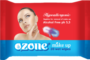Buy Wet towel wipes for removal of a make-up of TM Ozone, the Wet clearing towel wipes