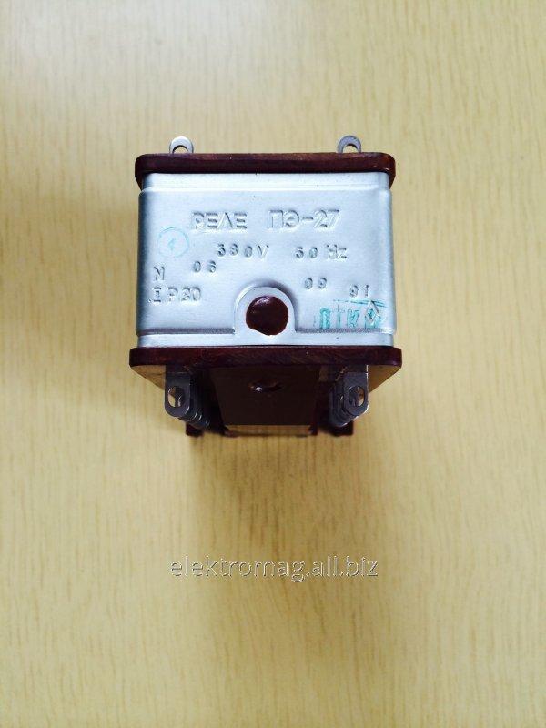 Реле электромагнитное ПЭ-27 380В
