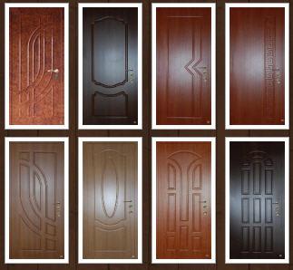 Дверь из мдф панелей