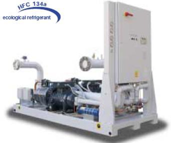 Купить Водяной чиллер с водяным охлаждением конденсатора ECWBH 230 – ECWBH 840