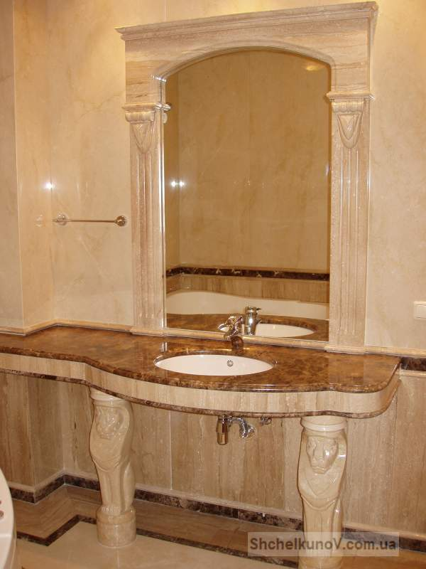 Buy Marble complex in a bathroom