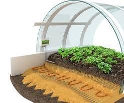 Купити Опалення ґрунту в теплицях, зимових садах, оранжереях