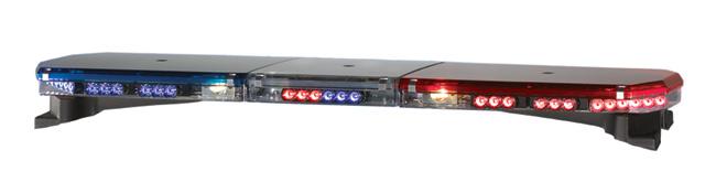 Светодиодная световая панель (световая балка) CODE 3 - LED-X 2100 с низким профилем (США).