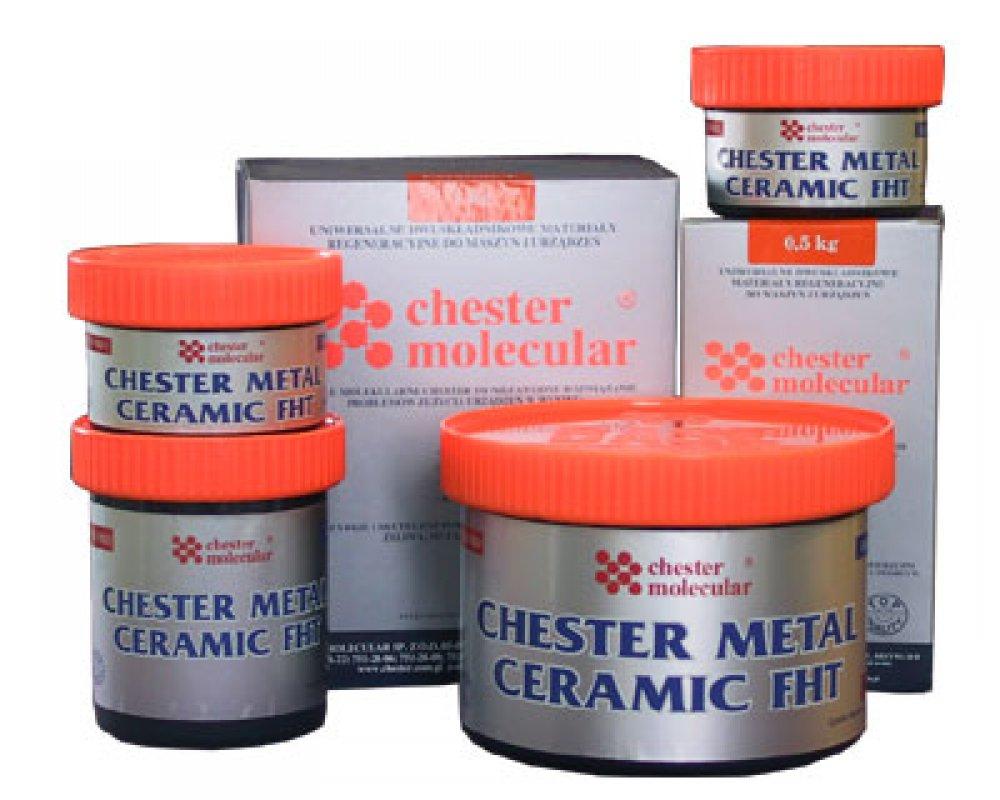 Двухкомпонентный металлонаполненный композитный материал Chester Metal Ceramic FHT