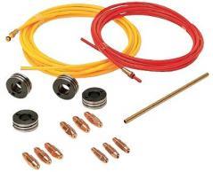 Купить Набор для сварки алюминия для аппарата 820030.Сварка в среде защитного газа (MIG/MAG сварка).Производитель: TELWIN (Италия).Модель: 802273