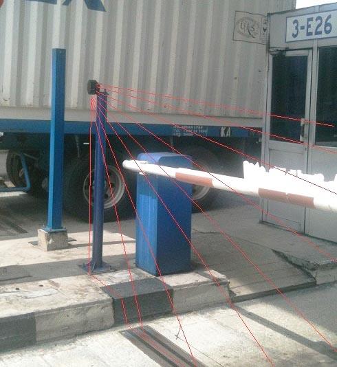 Купить Лазерный датчик безопасности для шлагбаумов LZR®-I100