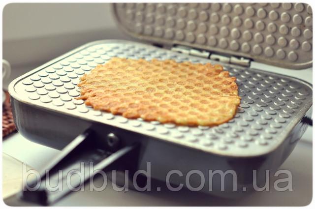Как сделать вафли без электровафельницы
