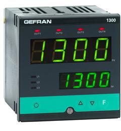 Купить Gefran 1300 Конфигурируемый двухдисплейный контроллер