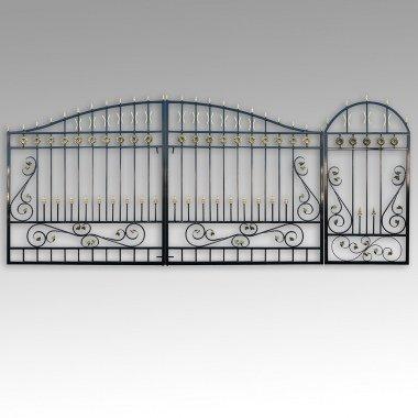 Ворота с калиткой В №1