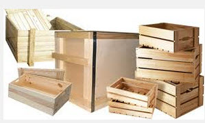 Buy Production of the wooden container of any sizes according to your drawings