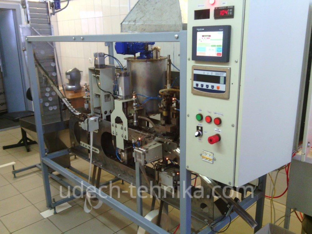 Автомат для фасовки кофе в капсулы