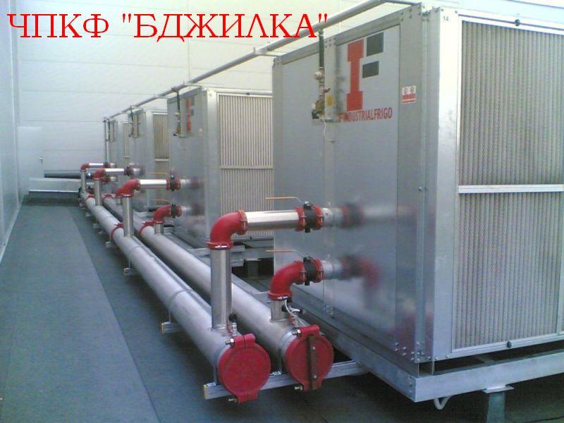 Чиллеры «Industrial Frigo» - Промышленные охладители жидкости.