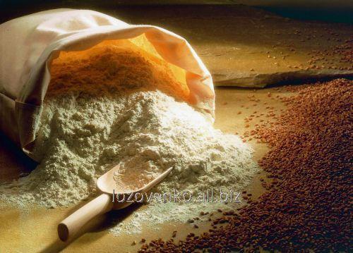 Peeled rye flour (whole wheat flour)