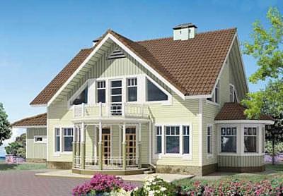 Купить Дома каркасные деревянные