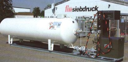 Станции газовые заправочные с надземными емкостями (Станции компрессорные газозаправочные)