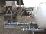 Насос для газовых заправочных станций с надземными емкостями (Оборудование для хранения газа)