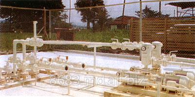 Станции газовые заправочные с подземными емкостями (Станции компрессорные)
