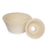 Cup conic Type 11 electrocorundum white