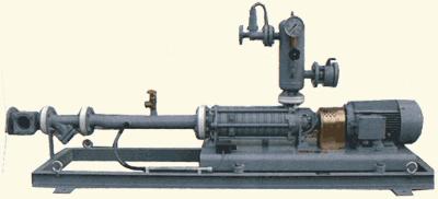 Установки с самовсасывающими открытовихревыми насосными агрегатами