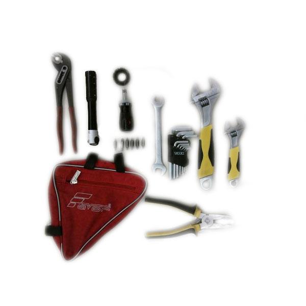 Набор ключей для сборки и обслуживания велосипеда